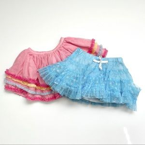 💥3/$15 Lot of 2 Girly Skirts